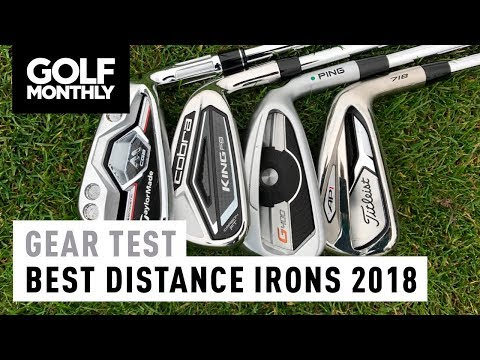 Best Distance Irons 2018 | M CGB vs King F8 vs G400 vs 718 AP1 | Golf Monthly