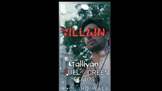 Full screen status: Galliyan Song | Ek Villain | Sidharth Malhotra | Shraddha Kapoor
