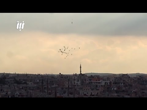 Footage Of Intense Airstrikes And Bombardment| Syria | February, 2017. Mp3