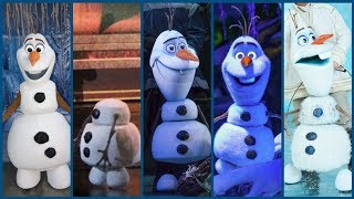 Evolution of Frozen's Olaf In Disney Theme Parks! DIStory Ep. 19! Disney Park History!