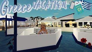 Greece VACATION!!! IIRoblox Bloxburg