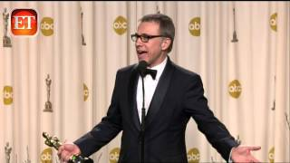 Christoph Waltz Shocked by Oscar Win