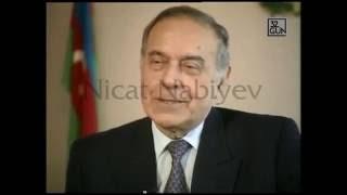 Heydər Əliyev: Sürət Hüseynovun çoxlu silahı var.