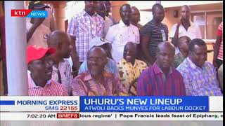 Leaders react over President Uhuru's cabinet appointment move