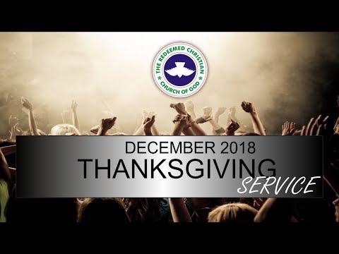 RCCG DUBAI December 2018 THANKSGIVING SERVICE