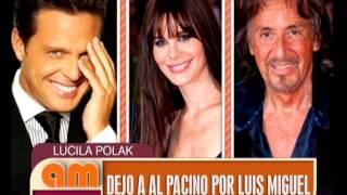 AM - Lucila Polak, Al Pacino y Luis Miguel