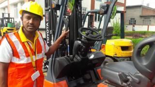 Forklift basic operations