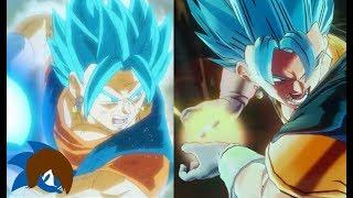 Recreating Anime Moments In Dragon Ball Xenoverse 2 (Vegito Blue VS Fused Zamasu With Dialogue)