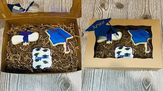 Graduation Cookie Gift Set | Set De Regalo De Galletas De Graduación
