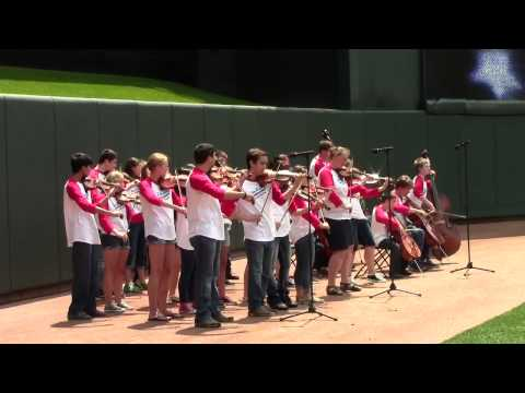 Minnesota Twins Game - National Anthem Performance