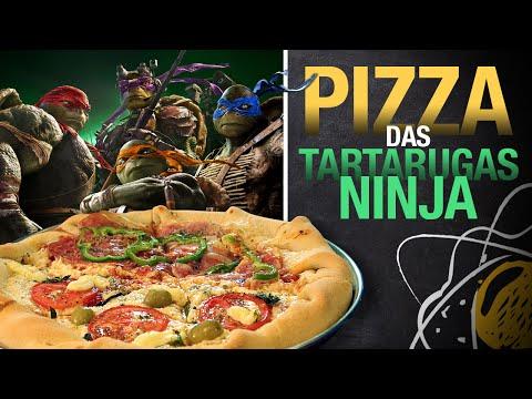 Pizza Tartarugas Ninja
