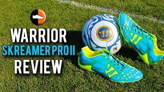 Warrior Skreamer Pro II Review - Vincent Kompany's Boots