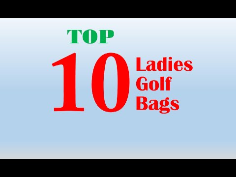 Top 10 ladies golf bags