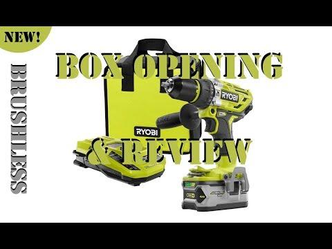 Ryobi ONE+ 18-Volt Brushless Hammer Drill Kit P1813 (REVIEW)