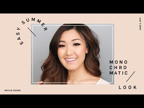 Easy Summer Monochromatic Look | ilikeweylie