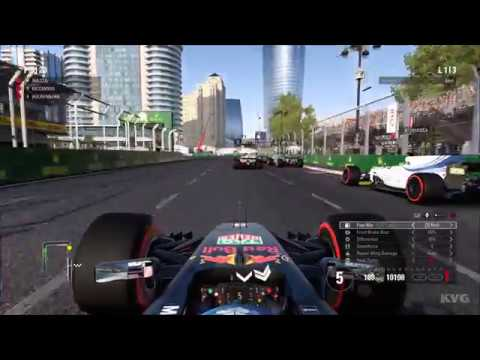 f1 2017 pc gameplay