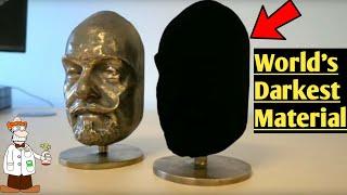 World's Darkest Material #VANTABLACK|Scientific Tube|