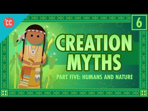 Člověk a příroda v mýtech o stvoření