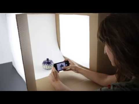 how to build a photo light box for small product photography for less than $10 by diy xyz