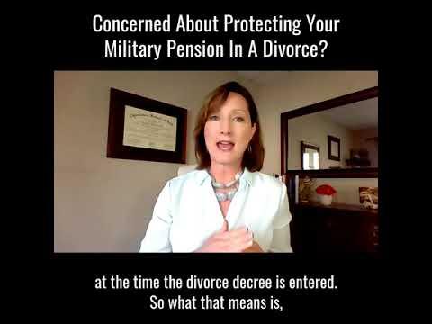 Military Pension & Divorc…