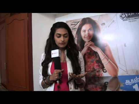 Heroine Salony Luthra at Sarabham Special Interview