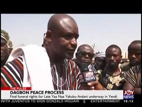 Dagbon Peace Process - The Pulse on JoyNews (17-1-19)