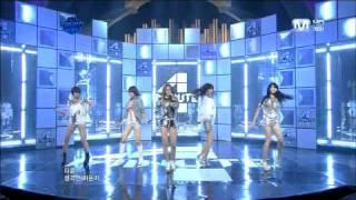 4minute(포미닛)-거울아 거울아(Mirror Mirror) 110407 Comeback Live