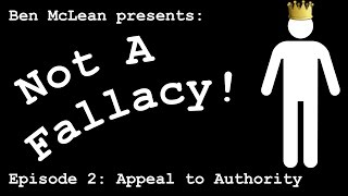 Appeal to Authority is Not a Fallacy