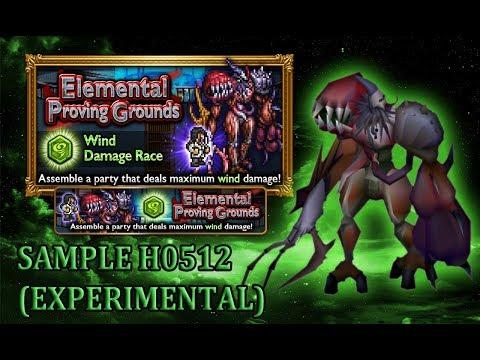 [FFRK] Elemental Proving Grounds - Wind | Cell Strength: ERROR #1291