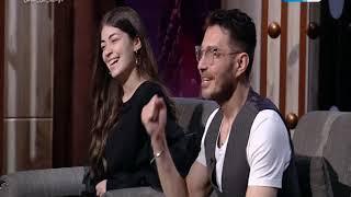 عمرو الليثي يكرم احمد زاهر وابنته ليلى عن ادوارهما في البرنس والفتوة رمضان 2020