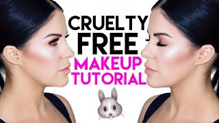 GLOWING PEACH MAKEUP LOOK + GIVEAWAY!!!! (CRUELTY FREE)