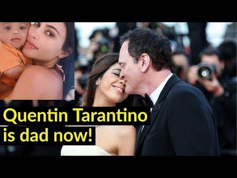 56 évesen apa lett Quentin Tarantino