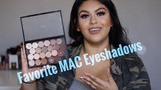 My Favorite MAC Eyeshadows   Most Used