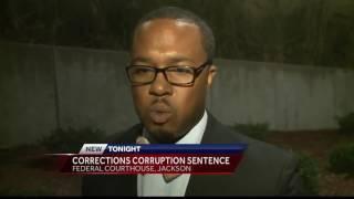 Corrections corruption sentence