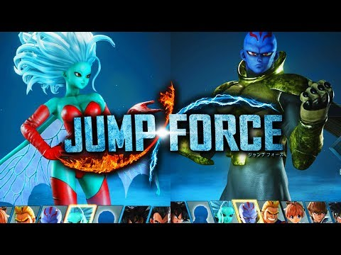 JUMP FORCE Kane & Galena Playable FREE DLC ALL Changes, Special Moves, & Awakening Techniques!