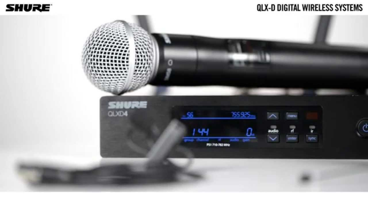 QLX-D Digital Wireless Systems: Wide Selection of Mics