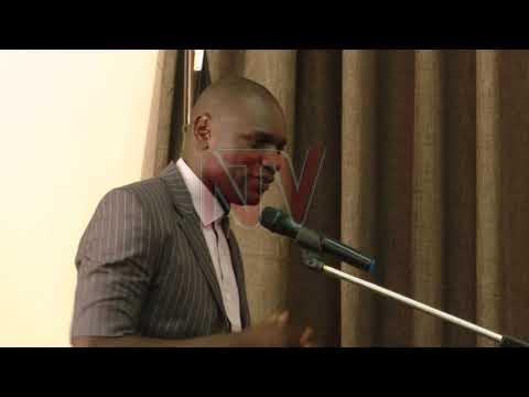 Katikiro Charles Peter Mayiga meets Cranes' Captain Onyango