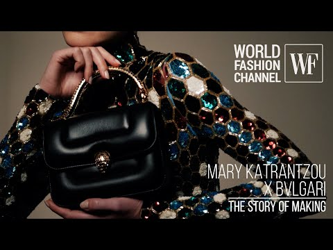Mary Katrantzou x Bvlgari   The story of making
