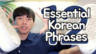 12 Most Essential Korean Phrases explained! by Shichan Oppa