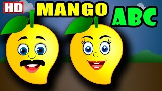 ABC Song For Children Mango Cartoon | Alphabet Song Nursery Rhymes Songs | ABCD Song for Children