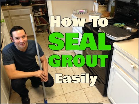 How To Seal Grout Without Getting On Your Hands & Knees! Mp3