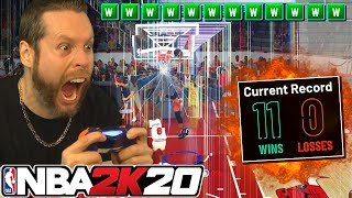 My last chance to go 12-0 in NBA 2K20