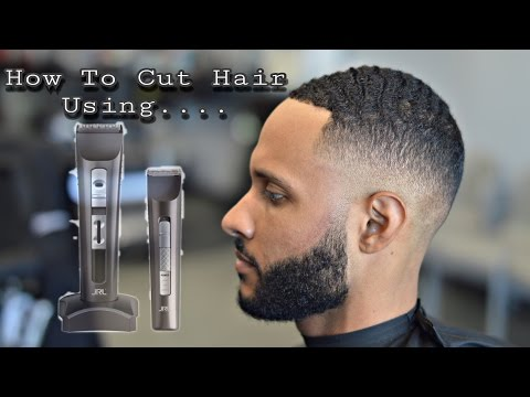 BARBER TUTORIAL USING JRL CLIPPERS | CLIPPER REVIEW