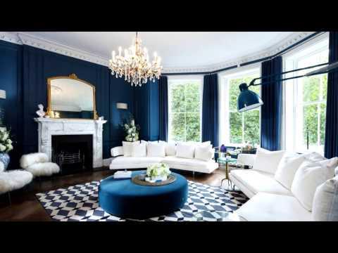 Mavi Renklerin Kullanıldığı Dekorasyon Düşünceleri