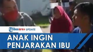 Viral Video Polisi Tolak Laporan Anak Ingin Penjarakan Ibunya: Saya Bayar 15 Juta, tapi Anda Sujud