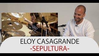 Drum Teacher Reacts to Eloy Casagrande - Drummer of Sepultura