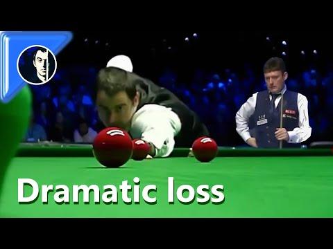 Dramatic Defeat | Ronnie O'Sullivan vs Jimmy White | 2019 Champion of Champions - Last 16