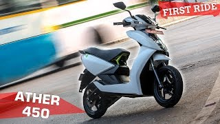 Ather 450 First Ride Review | The Future Is Electric! | ZigWheels.com