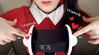 ASMR Ear Cleaning, Massage and Head Scratching with Fingers (ง •̀_•́)ง 맨손귀청소