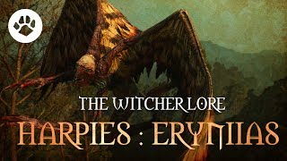 What Are Harpies? The Witcher 3 Lore - Harpies : Erynias